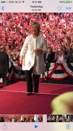 Hillary at Navy Yard